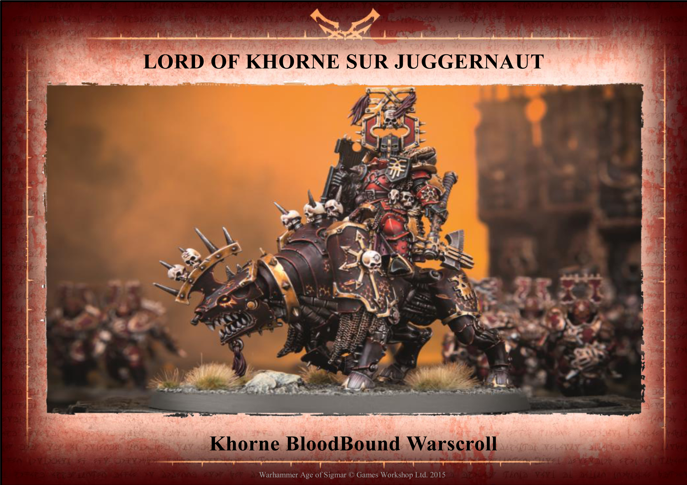 Khorne Bloodbound Pdf